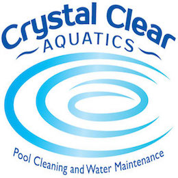 Crystal Clear Aquatics Pool & Spa Services Logo