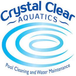 Crystal Clear Aquatics Pool & Spa Services Logo