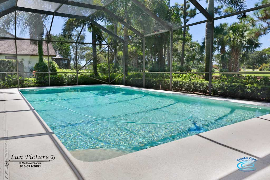 Portfolio crystal clear aquatics pool spa services - Crystal clear pools ...